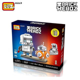 LOZ Diamond Block Brick 'H'eadz - Super Hero - 1502