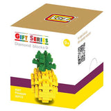 LOZ Diamond Blocks Gift Series Nano Block 90 Piece Building Set - Pineapple