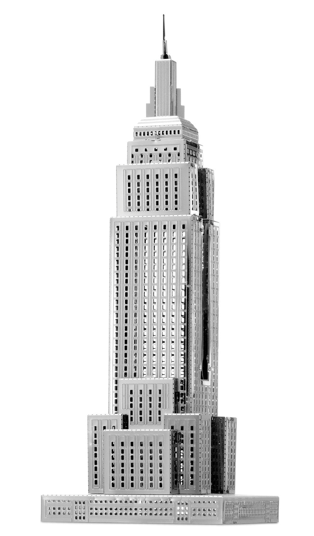 Fascinations Metal Earth 3D ICONX Laser Cut Model Empire State Building