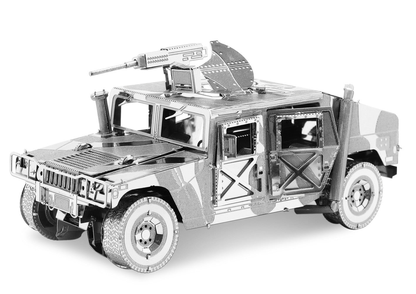 Fascinations Metal Earth 3D ICONX Laser Cut Model HUMVEE