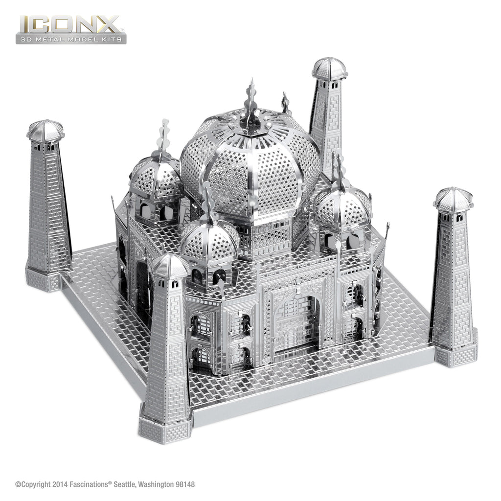 Fascinations Metal Earth 3D ICONX Laser Cut Model Taj Mahal