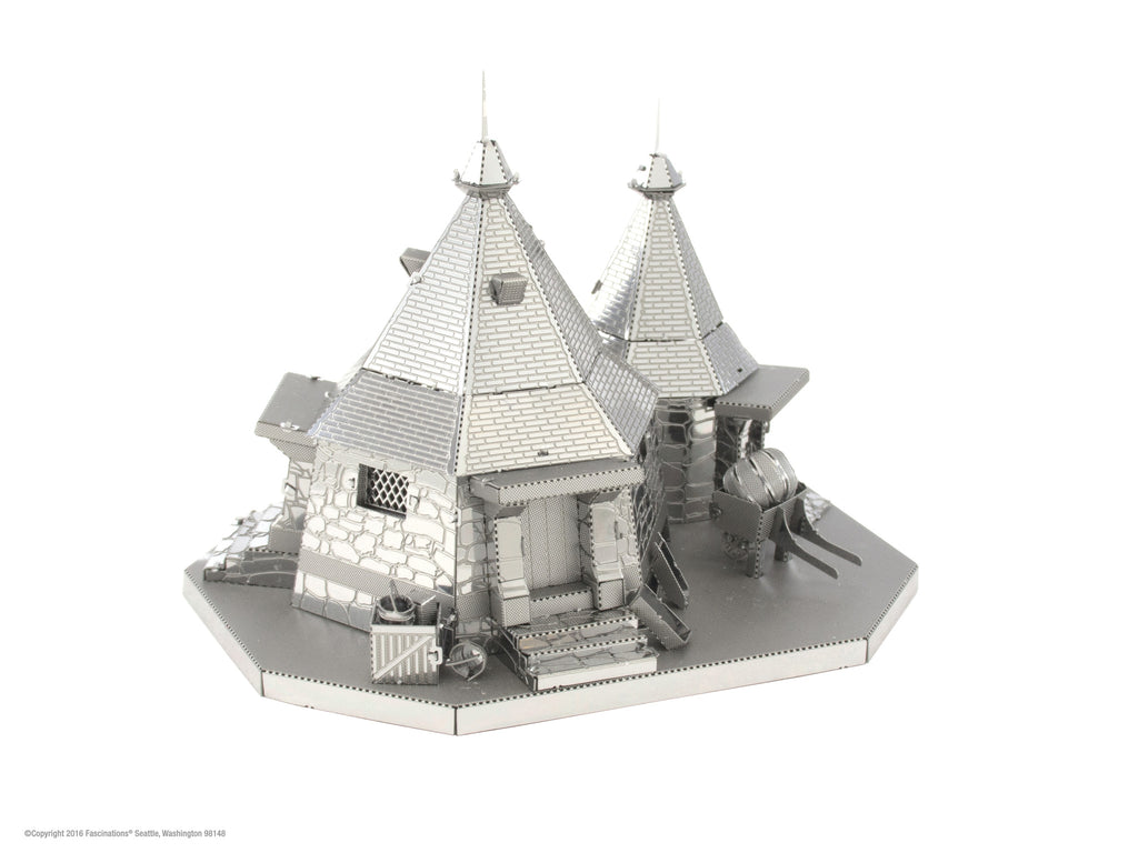 Metal Earth 3D Laser Cut Model Kit Harry Potter Rubeus Hagrid's Hut