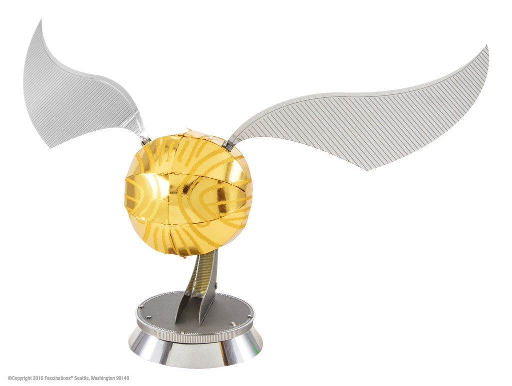 Metal Earth 3D Laser Cut Model Kit Harry Potter Golden Snitch