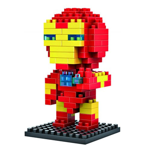 LOZ Diamond Blocks Avengers Gift Series Nano Block 130 Piece Building Set - Iron Man