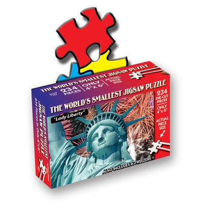 TDC Puzzles World's Smallest Jigsaw Puzzle Statue of Lady Liberty