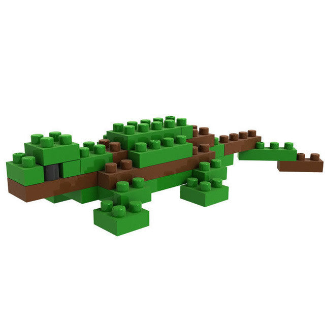 LOZ Diamond Blocks Animals Gift Series Nano Block 30 Piece Building Set - Lizard Gecko