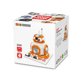 Wise Hawk Diamond Blocks Star Wars Gift Nano Block 592 Piece Building Set BB-8