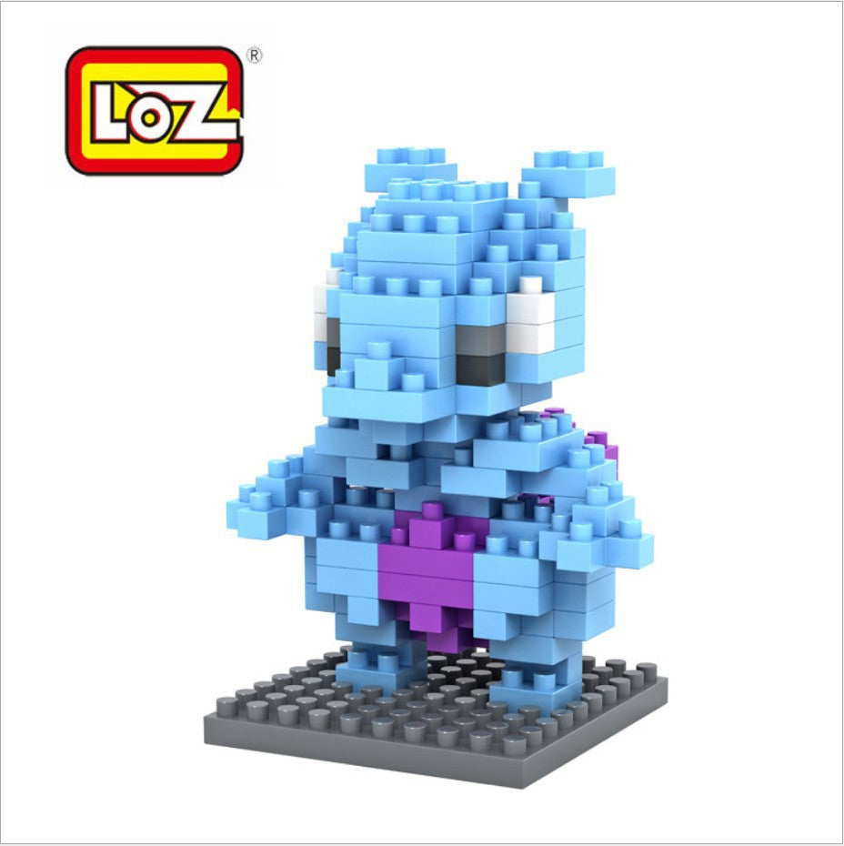 LOZ Diamond Blocks Pokemon Nano Block 130 Piece Building Sets - Mewtwo