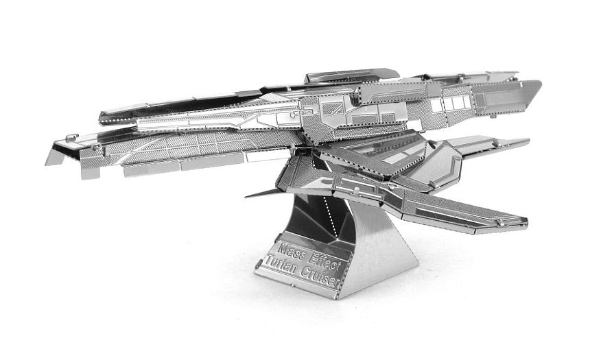 Metal Earth 3D Laser Cut Model Mass Effect Turian Cruiser RETIRED