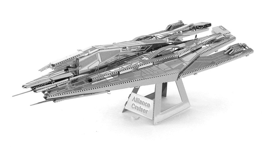 Metal Earth 3D Laser Cut Model Mass Effect Alliance Cruiser