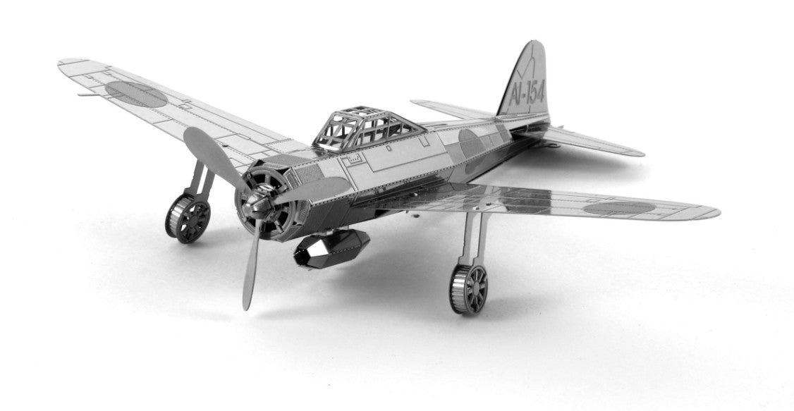 Metal Earth 3D Laser Cut Model Zero Fighter Plane