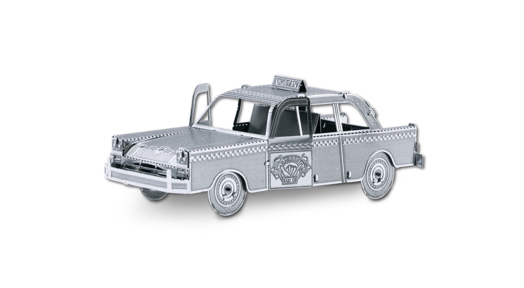 Fascinations Metal Earth 3D Laser Cut Model NYC Checker Cab