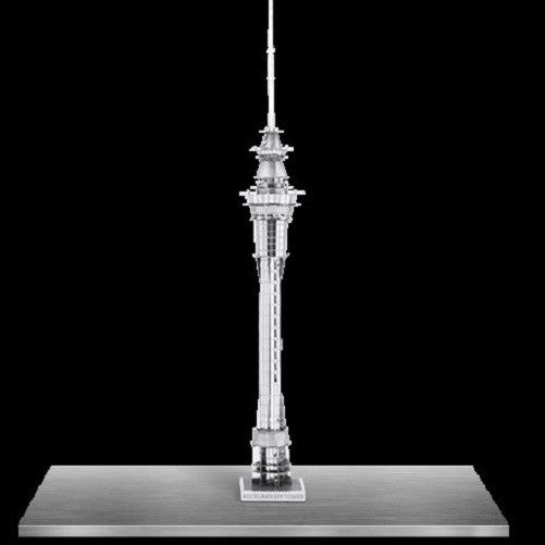 Metal Earth 3D Laser Cut Model Auckland Sky Tower