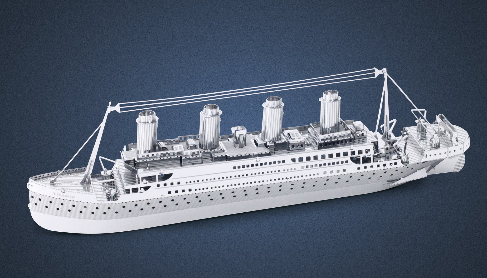 Metal Earth 3D Laser Cut Model Titanic Ship Boat