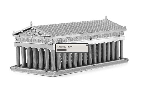 Metal Earth 3D Laser Cut Model Parthenon