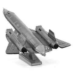 Metal Earth 3D Laser Cut Steel DIY Model SR71 Blackbird Plane Kit