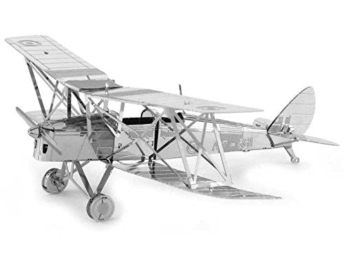 Metal Earth 3D Laser Cut Model de Havilland Tiger Moth DH82