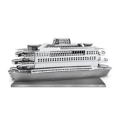 Metal Earth 3D Laser Cut Model Commuter Ferry Boat