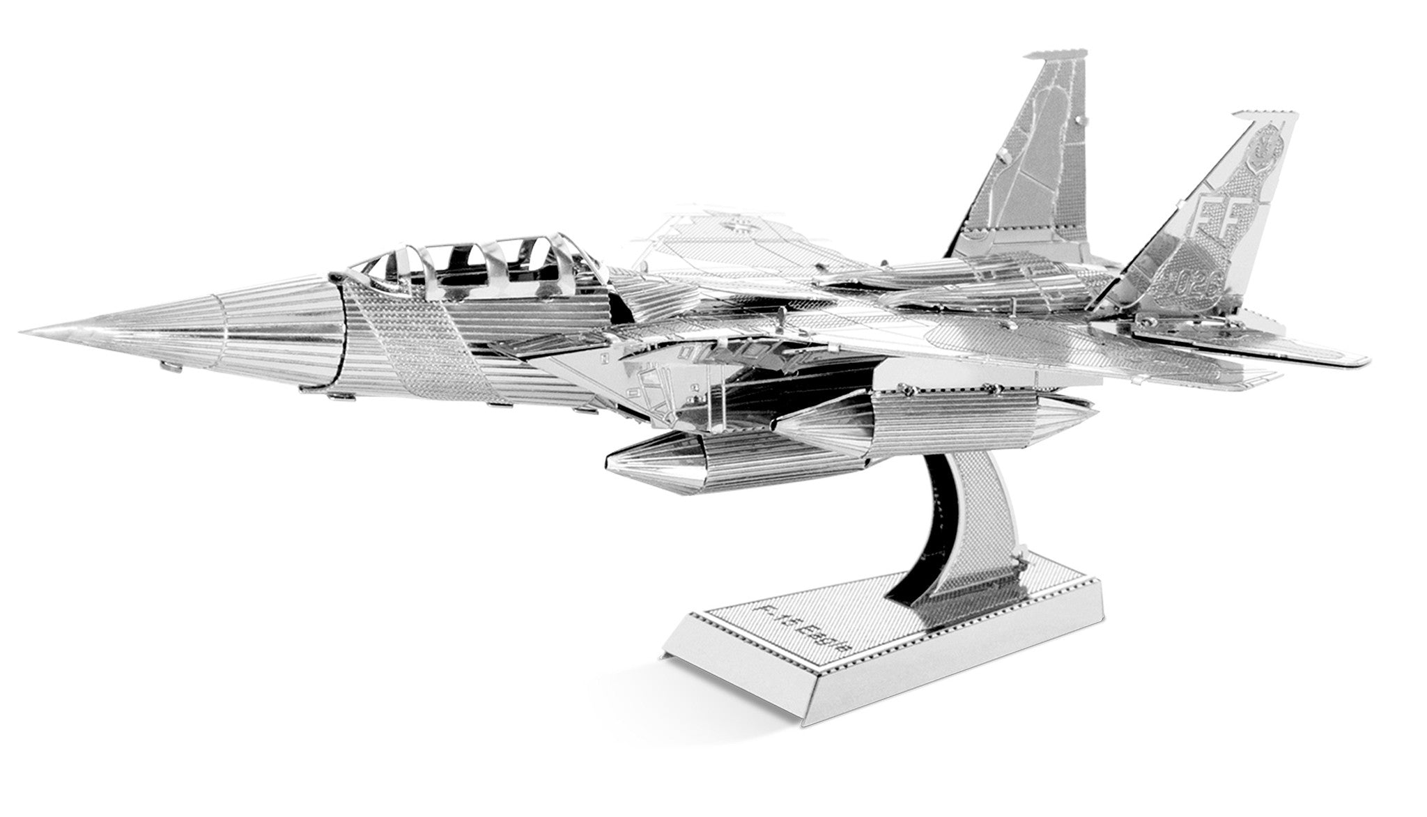 Metal Earth 3D Laser Cut Model F-15 F15 Eagle Fighter Jet