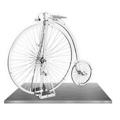 Fascinations Metal Earth 3D Laser Cut Model High Wheel Bicycle