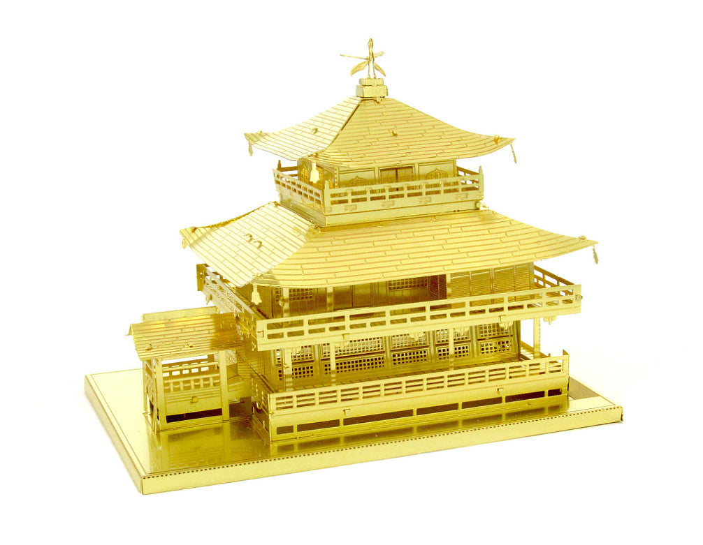 Metal Earth 3D Laser Cut Model Kit - Kinkaku-ji Gold Version