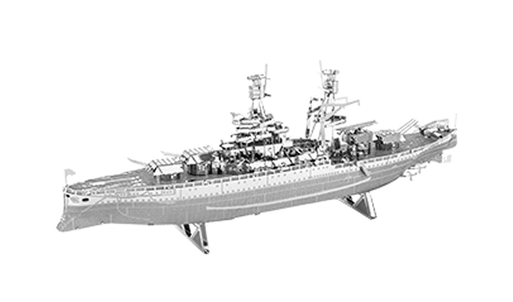 Metal Earth 3D Laser Cut Model Military USS Arizona Ship