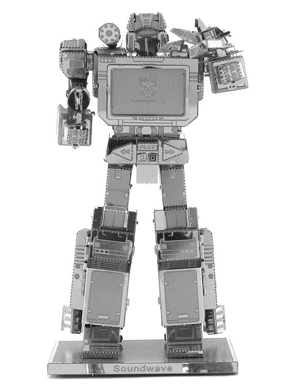 Metal Earth 3D Laser Cut Model Transformers Soundwave