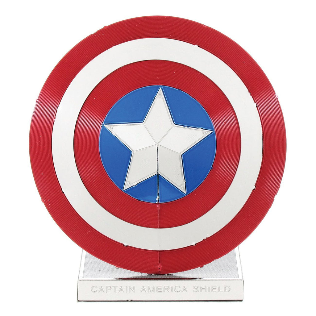 Metal Earth 3D Laser Cut Model Kit Marvel Avengers Captain America Shield