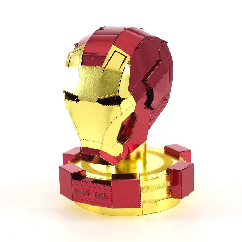 Fascinations Metal Earth Marvel Iron Man Mark 45 Helmet 3D Metal Model Kit