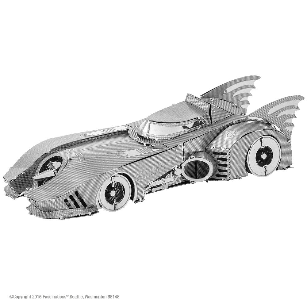 Metal Earth 3D Laser Cut Model Kit DC Comics Batman 1989 Batmobile
