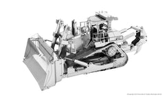 Metal Earth 3D Laser Cut Model Kit CAT Dozer