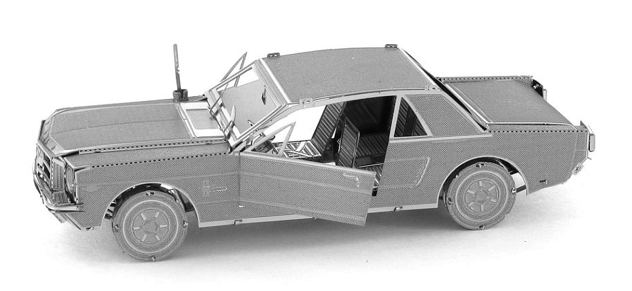 Metal Earth 3D Laser Cut Model 1965 Ford Mustang Car