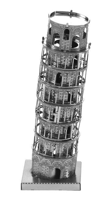 Fascinations Metal Earth 3D Laser Cut Model Leaning Tower of Pisa