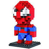 LOZ Diamond Blocks Gift Series Nano Block 130 Piece Building Set - Spiderman