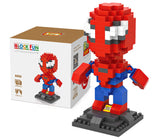LOZ Diamond Blocks Gift Series Nano Block 240 Piece Building Set - Spiderman
