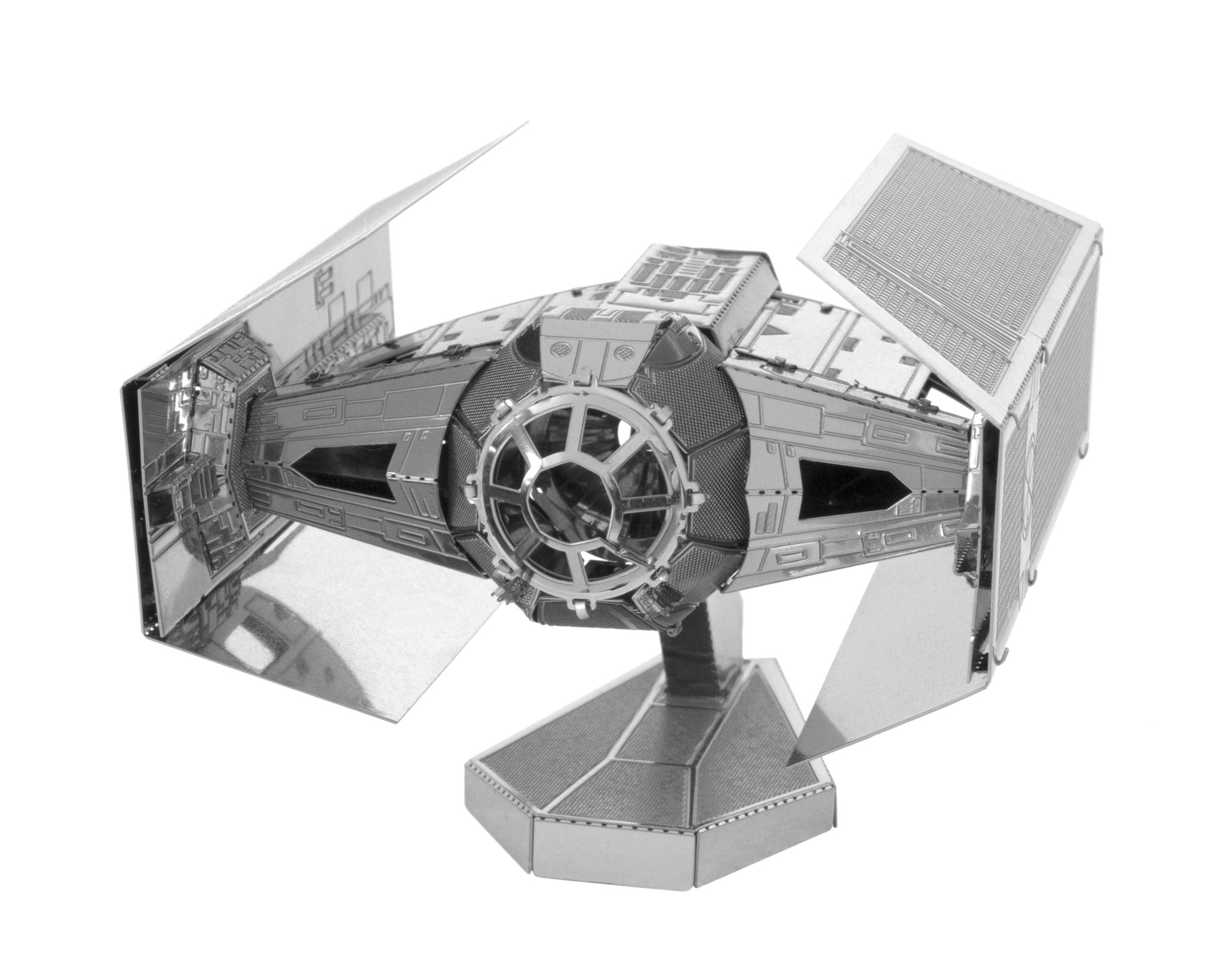 Metal Earth 3D Laser Cut Model Star Wars Darth Vader TIE Fighter