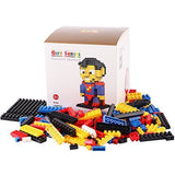 LOZ Diamond Blocks Gift Series Nano Block 150 Piece Building Set - Superman