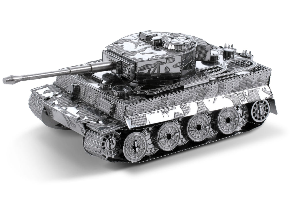 Metal Earth 3D Laser Cut Model Tiger I Tank Military