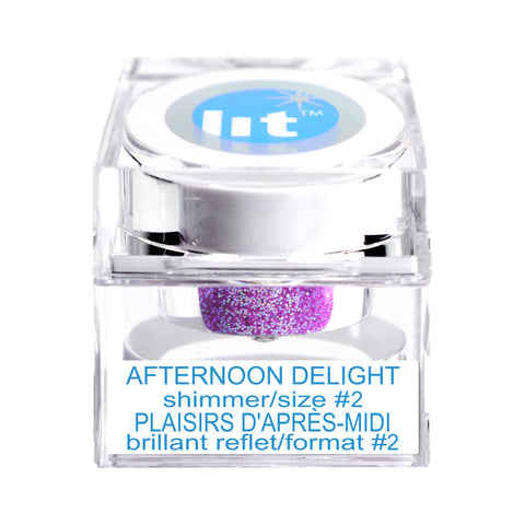 Afternoon Delight Size #2 Glitter (Shimmer)