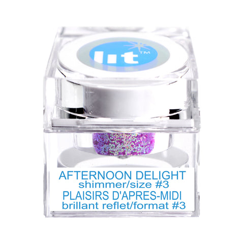 Afternoon Delight Size #3 Glitter (Shimmer)