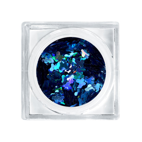Catching Butterflies Glitter Decor (Blue Holographic)