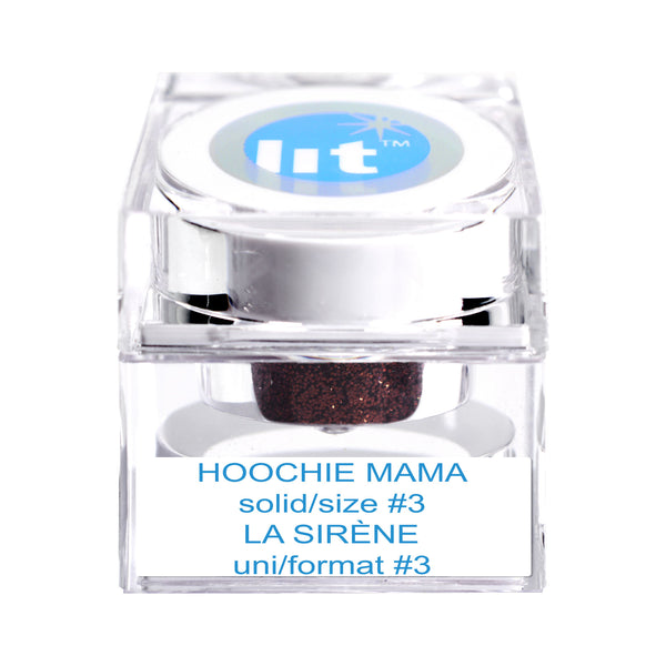Glitter Makeup Brown Glitter Hoochie Mama Lit Cosmetics Submitted 7 years ago by join_you_in_the_sun. hoochie mama size 3 glitter solid