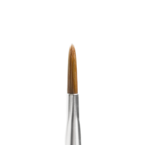 "Flat/Liner Duo 6.5"" Brush (best for Glitter & Metals)"