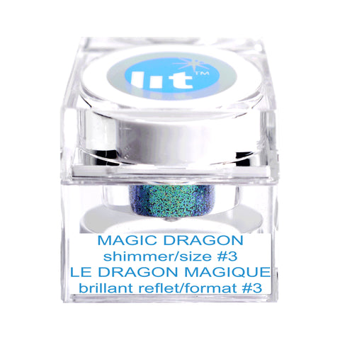 Magic Dragon Size #3 Glitter (Shimmer)