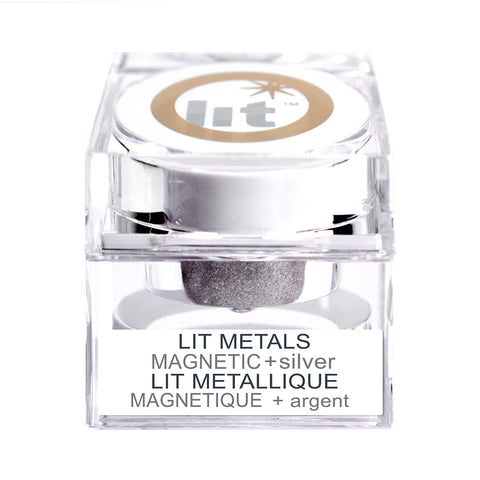 Lit Metals - Magnetic Silver