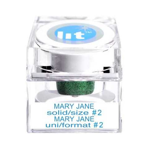 Mary Jane Size #2 Glitter (Solid)