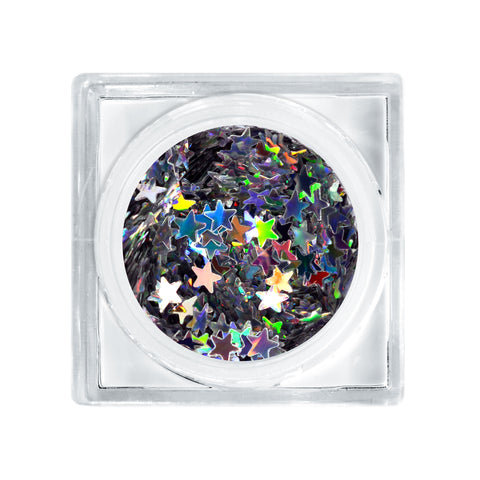 You're A Star (Silver Holographic / Size #3 Glitter Decor)