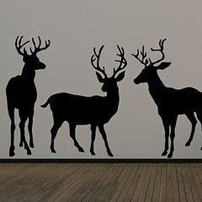 Standing Deer Wall Decal - Decor Designs Decals - 1