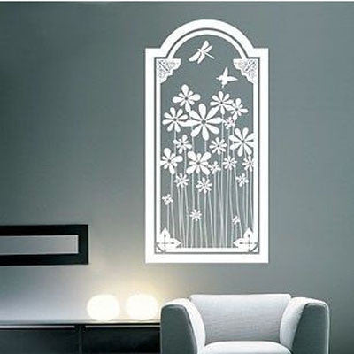 A Glimpse of Nature Vinyl Wall Decal Sticker - Decor Designs Decals