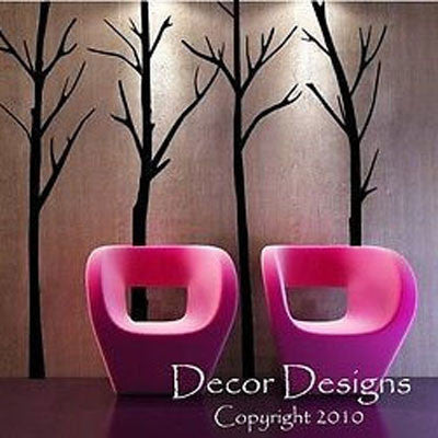Bare Winter Trees Wall Decal - Decor Designs Decals